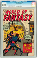 Silver Age (1956-1969):Horror, World of Fantasy #16 (Atlas, 1959) CGC VF 8.0 Cream to off-whitepages....