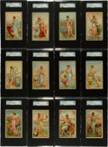 """Non-Sport Cards:Sets, 1889 N117 Duke/Gail & Ax """"Industries of the States"""" Complete Set (25) - #2 on the SGC Set Registry! ..."""