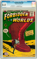 Silver Age (1956-1969):Horror, Forbidden Worlds #66 (ACG, 1958) CGC VF 8.0 Cream to off-whitepages....