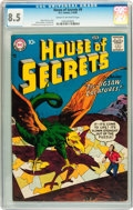 Silver Age (1956-1969):Horror, House of Secrets #9 (DC, 1958) CGC VF+ 8.5 Cream to off-whitepages....
