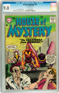 Silver Age (1956-1969):Horror, House of Mystery #70 (DC, 1958) CGC VF/NM 9.0 Off-white pages....