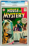 Silver Age (1956-1969):Horror, House of Mystery #72 (DC, 1958) CGC VF 8.0 Cream to off-whitepages....