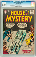 Silver Age (1956-1969):Horror, House of Mystery #73 (DC, 1958) CGC VF 8.0 Cream to off-whitepages....