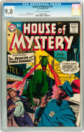 Silver Age (1956-1969):Horror, House of Mystery #74 (DC, 1958) CGC VF/NM 9.0 Cream to off-whitepages....