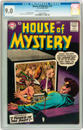 Silver Age (1956-1969):Horror, House of Mystery #75 (DC, 1958) CGC VF/NM 9.0 Cream to off-whitepages....