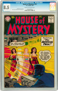 Silver Age (1956-1969):Horror, House of Mystery #76 (DC, 1958) CGC VF+ 8.5 Cream to off-whitepages....