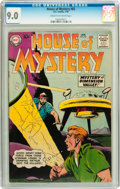 Silver Age (1956-1969):Mystery, House of Mystery #82 (DC, 1959) CGC VF/NM 9.0 Cream to off-whitepages....