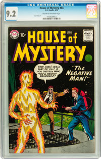 House of Mystery #84 (DC, 1959) CGC NM- 9.2 Cream to off-white pages