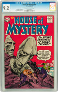 Silver Age (1956-1969):Horror, House of Mystery #85 (DC, 1959) CGC NM- 9.2 Cream to off-whitepages....