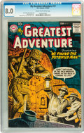 Silver Age (1956-1969):Adventure, My Greatest Adventure #17 (DC, 1957) CGC VF 8.0 Cream to off-white pages....