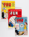 Magazines:Humor, Army & Navy Fun Parade File Copy Group (Fun Parade, 1940s-50s)Condition: FN/VF.... (Total: 60 Comic Books)