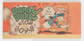 Golden Age (1938-1955):Cartoon Character, Cheerios Premiums Y1 Signed by Carl Barks (Walt Disney Productions,1947) Condition: FN+....