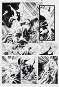 Original Comic Art:Panel Pages, Jim Lee and Scott Williams Batman #617 Page 20 Original Art(DC, 2003)....