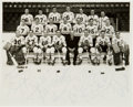 Hockey Collectibles:Photos, 1969 National Hockey League East Division All Stars Team SignedPhotograph....