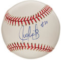 Autographs:Baseballs, Juan Gonzalez Single Signed Baseball ....