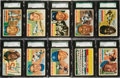 Baseball Cards:Sets, 1956 Topps Baseball Complete Set (340) Plus Checklist. ...