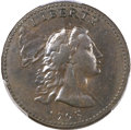 Large Cents, 1793 1C Liberty Cap, AU50+ PCGS. CAC. S-14, B-17, Low R.5. Our EACGrade XF45. ...