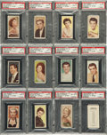 Non-Sport Cards:Sets, 1955 Barber Tea Cinema & TV Stars Near Set (24) - #7 on the PSASet Registry. ...