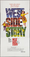 "Movie Posters:Academy Award Winners, West Side Story (United Artists, R-1968). Three Sheet (41"" X 81"").Academy Award Winners.. ..."
