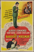 "Movie Posters:Adventure, The Barefoot Mailman and Other Lot (Columbia, 1951). One Sheets (2)(27"" X 41""). Adventure.. ... (Total: 2 Items)"