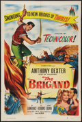 "Movie Posters:Adventure, The Brigand (Columbia, 1952). One Sheet (27"" X 41""). Adventure....."