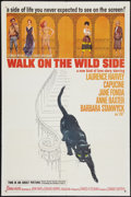 "Movie Posters:Drama, Walk On The Wild Side (Columbia, 1962). One Sheet (27"" X 41""). Drama.. ..."
