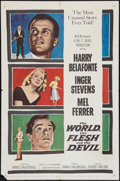 """Movie Posters:Science Fiction, The World, The Flesh and the Devil (MGM, 1959). One Sheet (27"""" X 41""""). Science Fiction.. ..."""