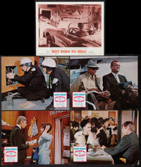 """Dead Heat on a Merry-Go-Round and Others Lot (Columbia, 1966). Lobby Cards (10) (11"""" X 14""""). Crime. ... (Total..."""
