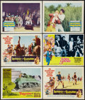 "Movie Posters:Adventure, Tarzan and the Valley of Gold and Others Lot (AmericanInternational, 1966). Lobby Cards (12) (11"" X 14""). Adventure.. ...(Total: 12 Items)"