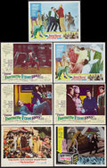 "Movie Posters:Comedy, The Great Race and Others Lot (Warner Brothers, 1965). Lobby Cards (7) (11"" X 14""). Comedy.. ... (Total: 7 Item)"
