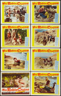 "Movie Posters:Adventure, Miss Robin Crusoe (20th Century Fox, 1953). Lobby Card Set of 8(11"" X 14""). Adventure.. ... (Total: 8 Items)"