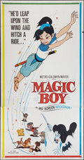 "Movie Posters:Animated, Magic Boy (MGM, 1960). Three Sheet (41"" X 81""). Animated.. ..."
