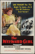 "Movie Posters:Bad Girl, The Wayward Girl (Republic, 1957). One Sheet (27"" X 41""). Bad Girl.. ..."