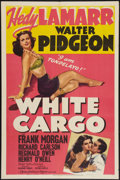 "Movie Posters:Drama, White Cargo (MGM, 1942). One Sheet (27"" X 41""). Drama.. ..."