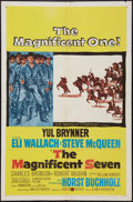 "Movie Posters:Western, The Magnificent Seven (United Artists, 1960). One Sheet (27"" X 41""). Western.. ..."