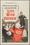 """Movie Posters:Comedy, Life with Father (Warner Brothers, 1947). One Sheet (27"""" X 41""""). Comedy.. ..."""