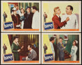 "Movie Posters:Comedy, Harvey (Universal International, 1950). Lobby Cards (4) (11"" X 14""). Comedy.. ... (Total: 4 Items)"
