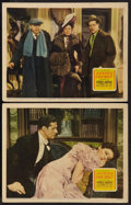 "Movie Posters:Comedy, Heaven Can Wait (20th Century Fox, 1943). Lobby Cards (2) (11"" X14""). Comedy.. ... (Total: 2 Items)"