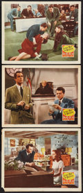 """Movie Posters:Film Noir, Leave Her to Heaven (20th Century Fox, 1945). Lobby Cards (3) (11"""" X 14""""). Film Noir.. ... (Total: 3 Items)"""
