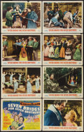 "Movie Posters:Musical, Seven Brides for Seven Brothers (MGM, 1954). Lobby Card Set of 8 (11"" X 14""). Musical.. ... (Total: 8 Items)"