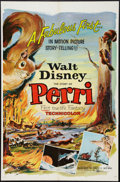"Movie Posters:Adventure, Perri & Other Lot (Buena Vista, 1957). One Sheets (2) (27"" X41""). Adventure.. ... (Total: 2 Items)"