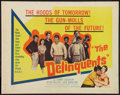 "Movie Posters:Exploitation, The Delinquents (United Artists, 1957). Half Sheet (22"" X 28"").Exploitation.. ..."