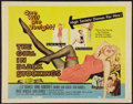 "Movie Posters:Crime, The Girl in Black Stockings (United Artists, 1957). Half Sheet (22"" X 28""). Crime.. ..."