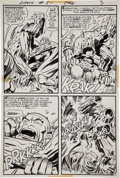 Original Comic Art:Panel Pages, Jack Kirby and Mike Royer The Demon #5 page 3 Original Art(DC, 1973)....