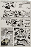 Original Comic Art:Panel Pages, Frank Miller and Klaus Janson The Amazing Spider-Man Annual#15 Doctor Octopus vs. the Punisher page #15 Original ...