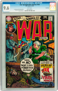 Star Spangled War Stories #150 Twin Cities pedigree (DC, 1970) CGC NM+ 9.6 White pages
