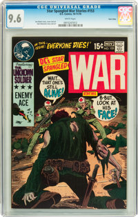 Star Spangled War Stories #153 Twin Cities pedigree (DC, 1970) CGC NM+ 9.6 White pages