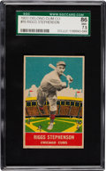 Baseball Cards:Singles (1930-1939), 1933 Delong Riggs Stephenson #15 SGC 86 NM+ 7.5 - Pop Two with NoneHigher!...