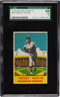 Baseball Cards:Singles (1930-1939), 1933 Delong Goose Goslin #24 SGC 84 NM 7 - Pop Two with None Higher! ...