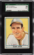 Baseball Cards:Singles (1940-1949), 1941 Play Ball Elden Auker #45 SGC 96 Mint 9 - Pop One with None Higher! ...